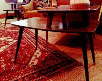 Haus Und Wohnen Möbel Beistelltische Mitte Jahrhundert Moderne Wohnzimmer  Möbel Paar Beistelltische