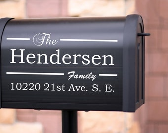 Mail Box lettering