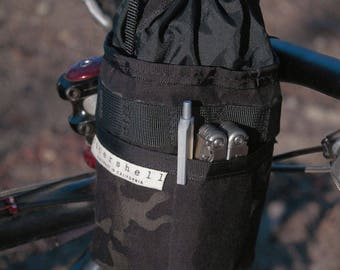 Stem Caddy cycling feed bag for your Bike, Custom Color