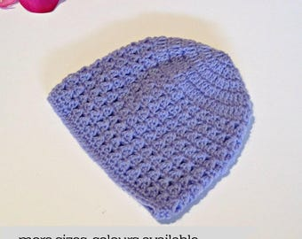Crochet knitted newborn baby boy hospital beanie hat, new baby boy hat, baby girls baby boys hat, girl hat, newborn gift, baby gift,