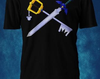 Tshirt - Kingdom Hearts and Legend of Zelda Blades