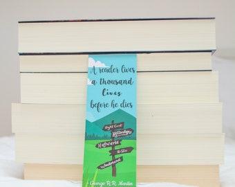 Bookmark 'Thousand Lives' - George R. R. Martin