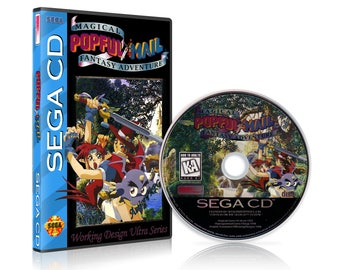 Popful Mail Reproduction for the Sega CD