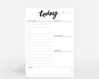 A5 Daily Planner