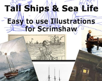Scrimspirations Book 2 - Tall Ships and Sea Life