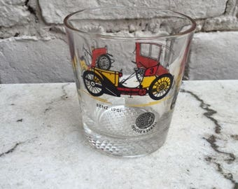 Vintage whisky glass old cars Procter & Gamble