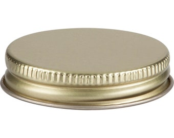 12 pcs Gold Mason Jar Lid for Ball 4 oz Miniature Mason Storage Jars