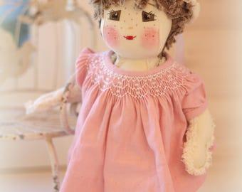 "15"" Tiny Tatters Doll Sweet Pea"