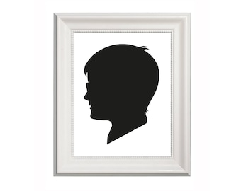 Harry Potter - Harry Potter-Inspired Black Card Silhouette - Limited edition papercut - Pop-culture - Gift - Screen Play