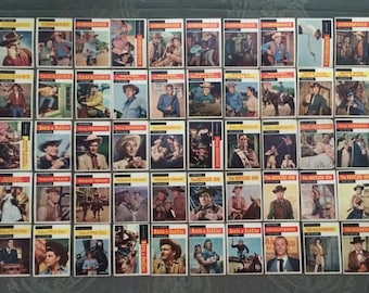 TV Western Trading Cards