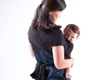 Madrid Baby Wrap, Organic baby carrier, Best Baby Shower gift,Ready to ship, Detailed written instructions