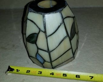 Small stained glass lamp shade