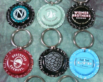 What Dog Doesn't Need a Little Oregon Breweries Bling? Recycled Bottle Cap Bling Charms (Sold Separately)