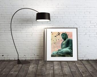 Buddha Photography , Spiritual Photography , Meditation Art , Spiritual Art , Buddha Wall Art , Buddha Wall Decor , Printable Art Print
