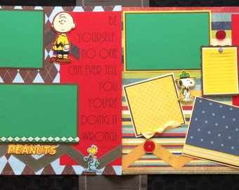 Charlie Brown Scrapbook Photo Album