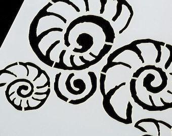 Fossils Stencil - As Seen On TV - 7 x7 inch