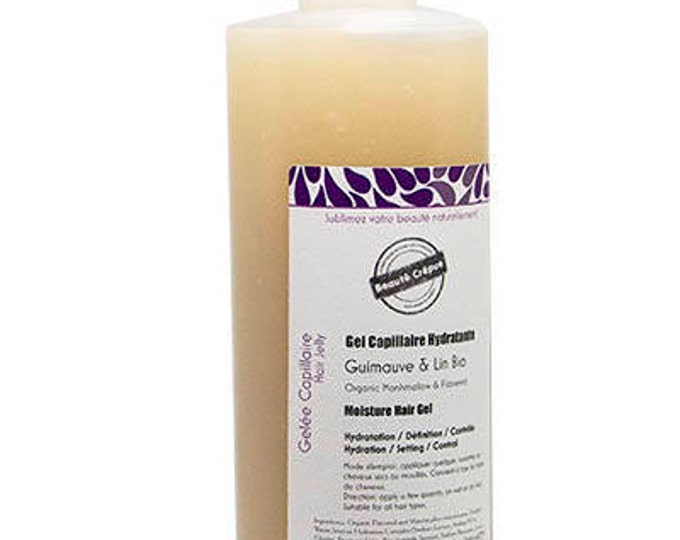 Organic Marshmallow roots & Flaxseed Extracts Hair Moisturizer Gel - 100ml | Travel Size