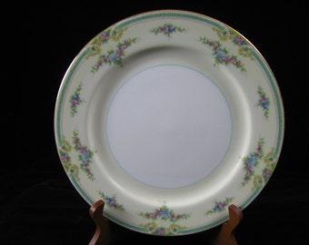 """Vintage Noritake China Plaza Pattern 10"""" Dinner Plate~Japan"""