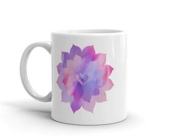 Heart Flower Mug