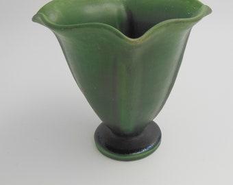 Vase by Svend Hammershoi for Herman A. Kähler Keramik,Denmark from 1930 art deco