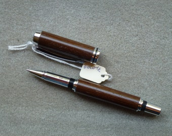 Roller Ball Pen in Bocote wood