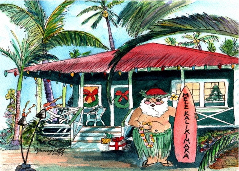 Printable diy hawaiian christmas card 5x7 pdf from kauai hawaii mele printable diy hawaiian christmas card 5x7 pdf from kauai hawaii mele kalikimaka holiday solutioingenieria Gallery
