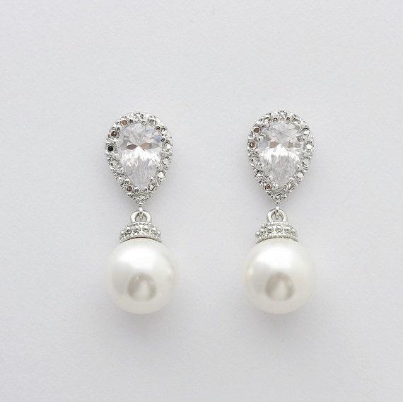 Swarovski ohrringe mit perlen