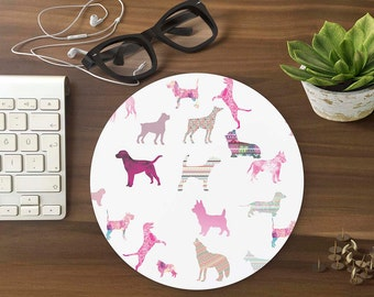 Mouse Pad  DOGS Mousepad Mouse Mat funny Mouse Pad Office Mousemat Rectangular Mousemat Mousepad funny mouse pad dogs - T80307