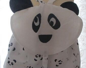 Great bag for the head of panda nursery