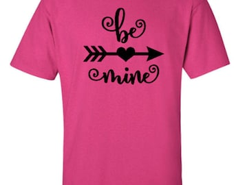 Be Mine Valentine's Day Adult Unisex Tshirt