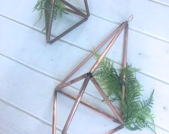 Cuivre Himmeli suspension décor géométrique cuivre décoration de mariage