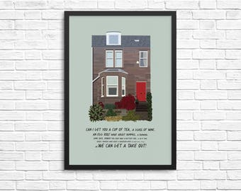 Personalised House Illustration / Home Print