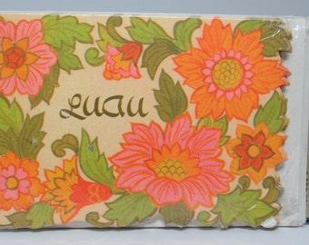 Vintage Hallmark Luau Invitations, Hawaiian Invitations