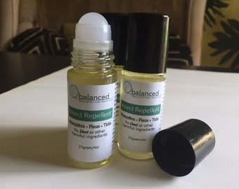Natural Aromatherapy Insect Repellent
