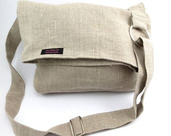 Top fold over bag.