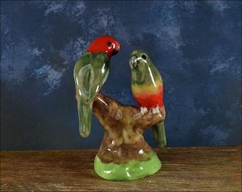 Mini king parrot figurine by Anita Reay Etsy AnitaReayArt