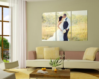 Canvas Split Wedding Anniversary Design