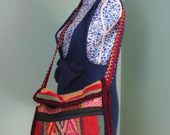 Beautiful Hand woven Peruvian Hand bag