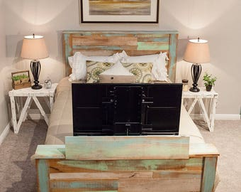 Farmhouse TV Bed