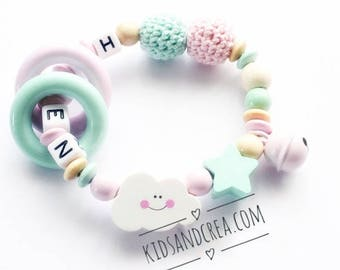 Personalized Baby Rattle