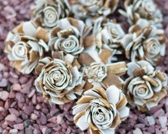 Rustic Rose Sola Wood Flowers
