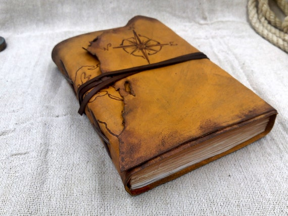 World map leather personalized travel journal explorer gumiabroncs Choice Image