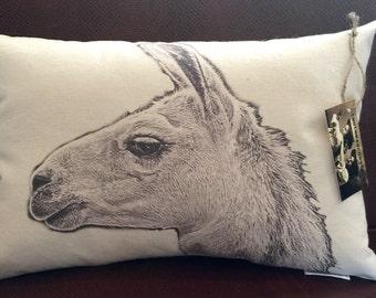 Llama Pillow / Sid