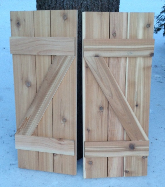 Available Z Shaped Shutter Board And Batten Cedar Barn