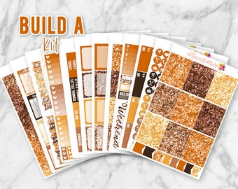 October Items Build-A-Kit! Choose your own sheets! Erin Condren Life Planner Weekly Sticker Kit | Fall Planner Stickers