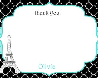 Paris Thank you note