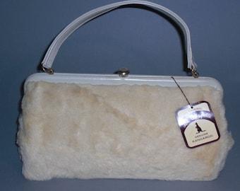 Handbag (44) fur, made in Australia, circa 1960's