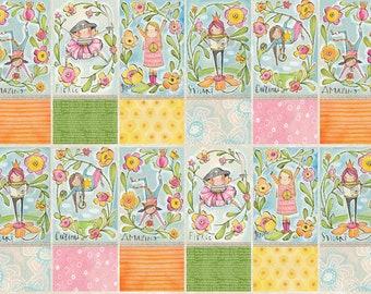 Girl Power Fabric Panel