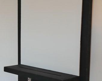 White Board - Message Board - Entryway Organizer- Key Hooks - Key Holder - Key Hanger