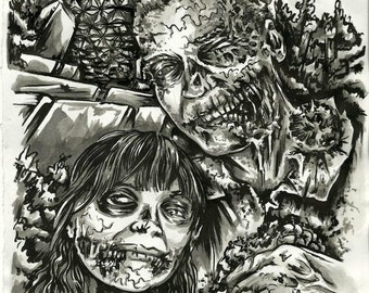 Zombie Portrait up to 3 people!